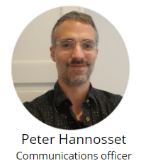 Peter Hannosset - communications officer