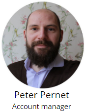 Peter Pernet - account manager